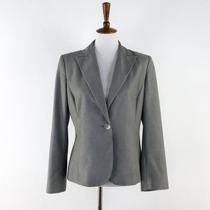 Calvin Klein Grey Button Front Blazer / Jacket
